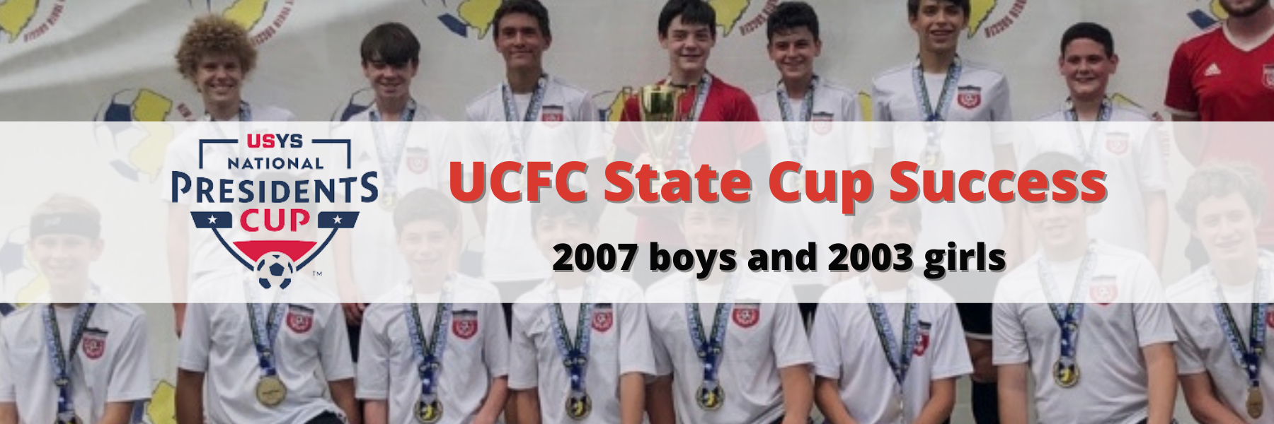 UCFC State Cup Success